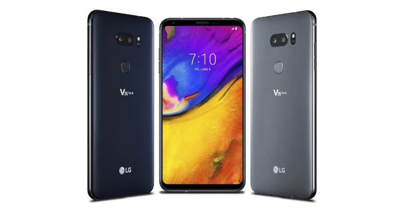The LG V35 ThinQ is an LG V30 with bits of LG G7 ThinQ in it