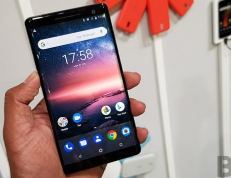Nokia 8 Sirocco receiving new Android Pie build update