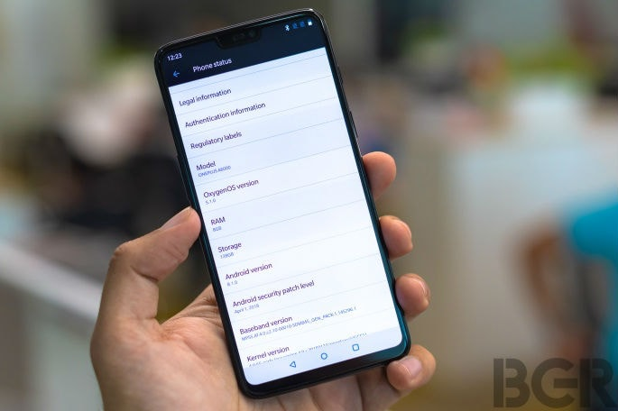 OnePlus 6 and 6T receiving new Oxygen update in India