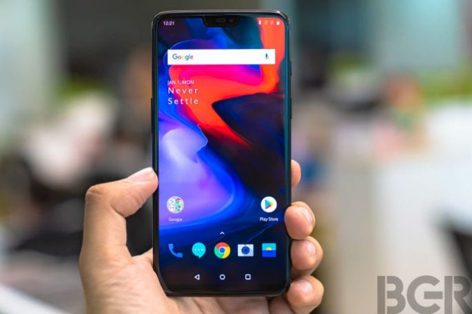 Oneplus 6 front gallery