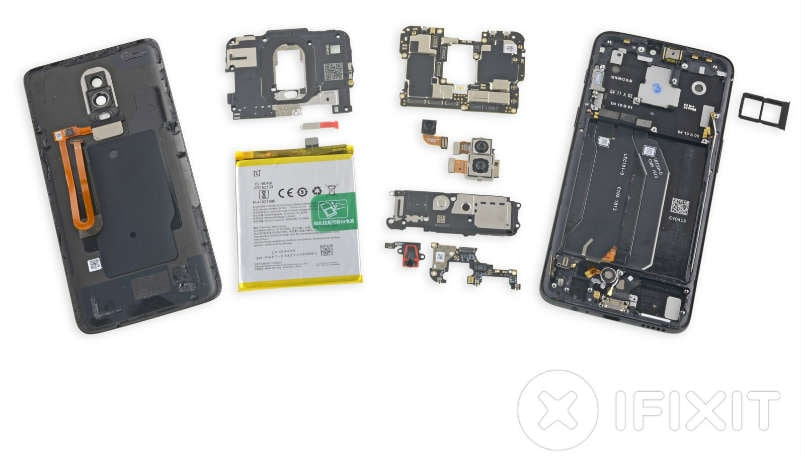 OnePlus 6 teardown reveals it is not the easiest to repair