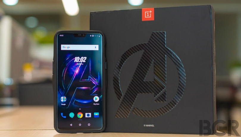 OnePlus 6 Marvel Avengers Edition First Impressions: This could be an infinity gem