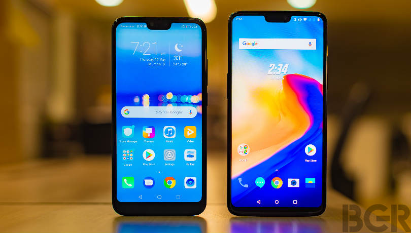 OnePlus 6 vs Honor 10: India price, specifications and features compared
