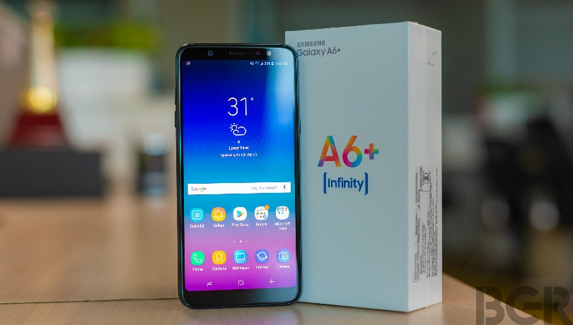 Samsung Galaxy A6+ Android Pie update roll out begins