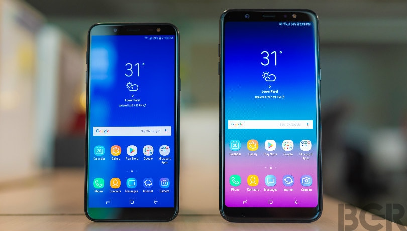 Samsung Galaxy J6, Galaxy A6+ First Impressions: Infinity Display, Face Recognition, Dolby Atmos and more