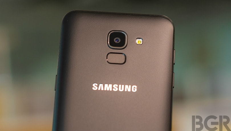 samsung galaxy j6 rear camera 2