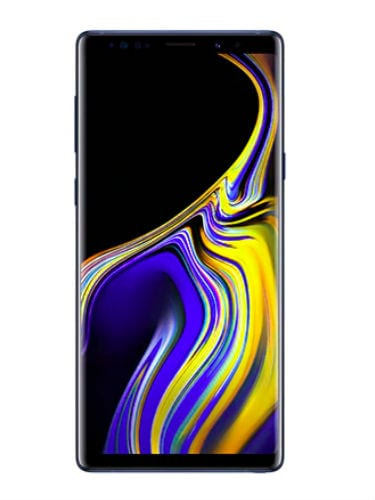 Samsung Galaxy Note 9 samsung galaxy note 9 front
