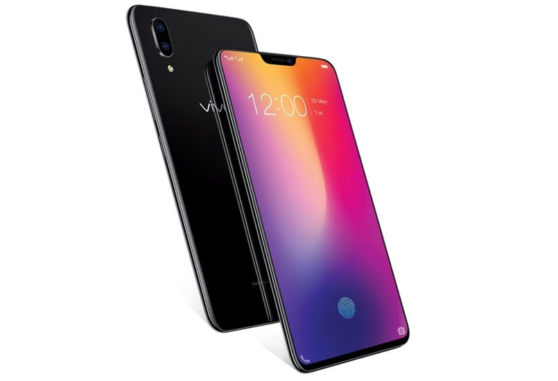 vivo-x21-india-launch-stock-image