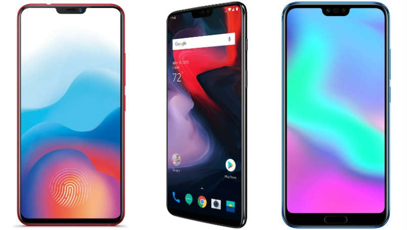 Compare The Market Phones >> Vivo X21 Vs Oneplus 6 Vs Honor 10 Price In India Specifications
