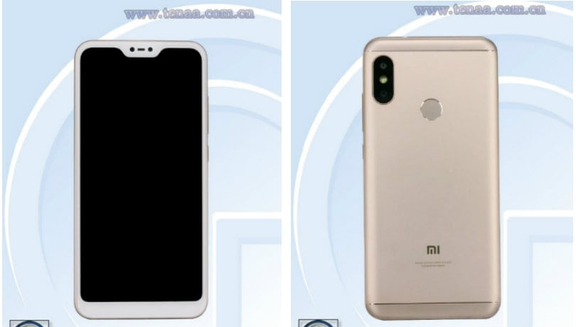 Xiaomi Redmi 6 Pro with 5.84-inch notched display, dual cameras clears TENAA certification