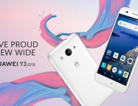 Huawei Y3 Android Go smartphone spotted online ahead of official launch