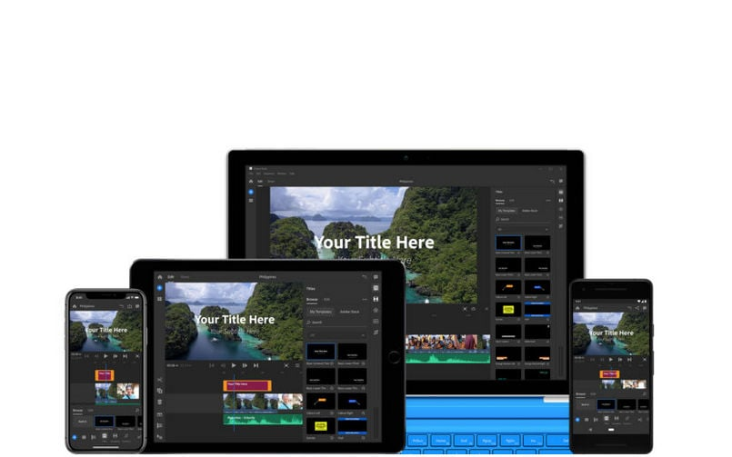 Adobe Project Rush unveiled, brings an all-in-one cross-device video editing app aimed at creators