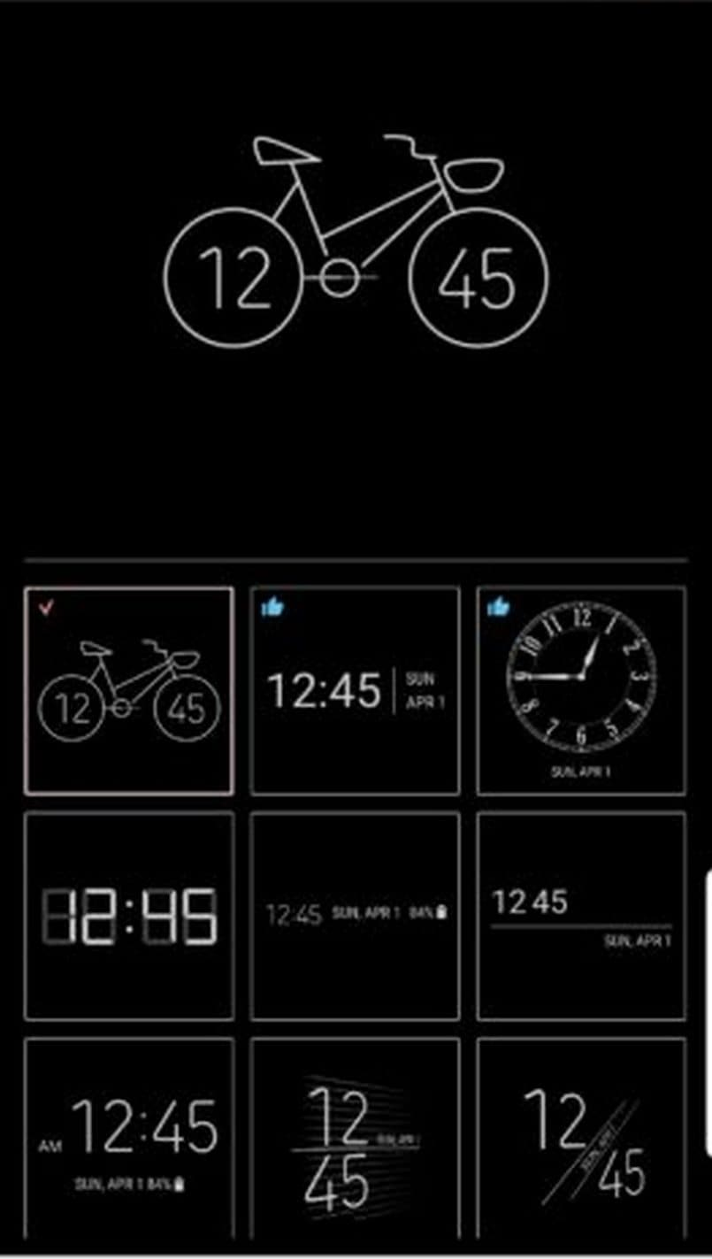 Samsung 'Always-On Display' gets nearly 30 new clock faces