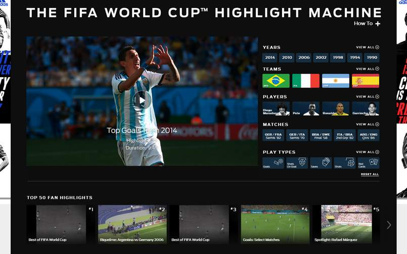 FIFA World Cup Highlight Machine 805