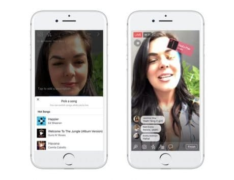 Facebook has just announced Lip Sync Live to compete with Musical.ly
