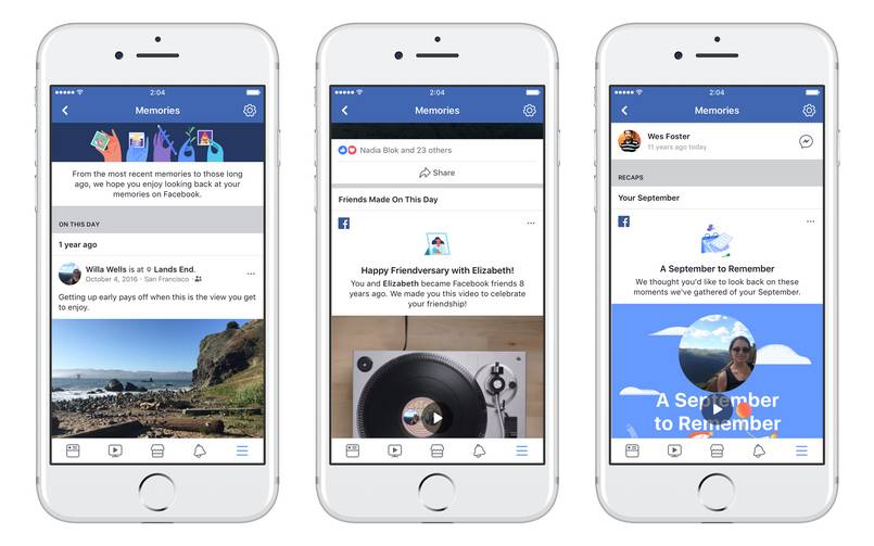 Facebook launches dedicated 'Memories' section for mobile apps and desktop