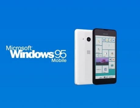Microsoft Windows 95 Mobile: YouTube video pictures a past that never was