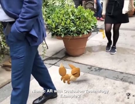 Pokemon Go creator shows off the new AR tech that lets Pikachu hide behind objects