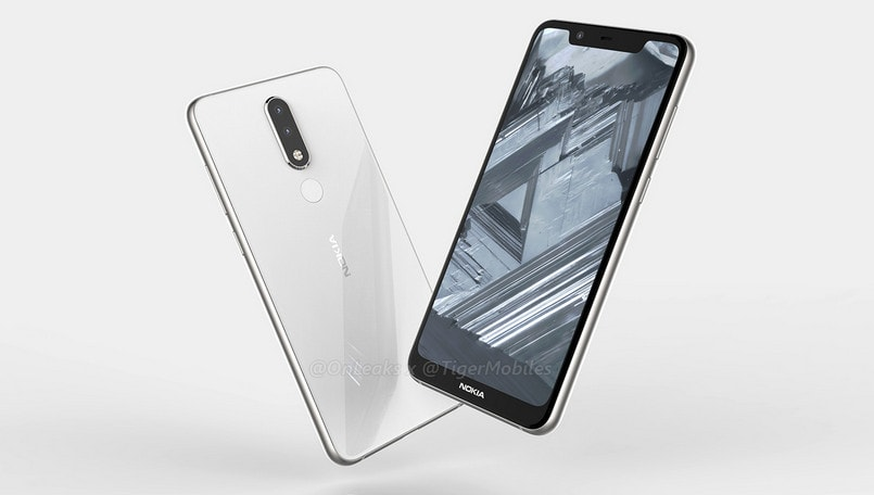 Nokia 5.1 Plus renders, 360-degree leaked video reveals notched display, dual rear cameras