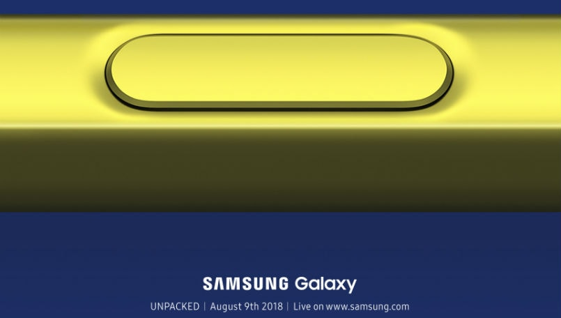 Samsung Galaxy Note 9 launch main
