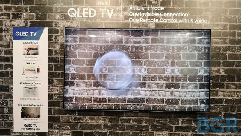 Samsung 2018 QLED TV launched with Ambient Mode: Price and Features