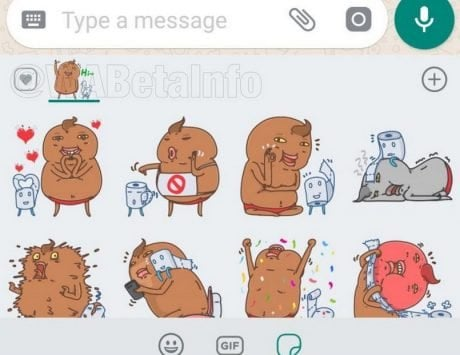 WhatsApp for Android is expected to get sticker reactions soon