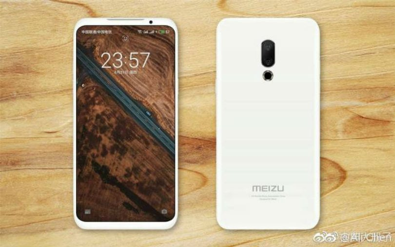 Meizu 16 leaked photo reveals full-screen display, dual-rear cameras, no fingerprint sensor