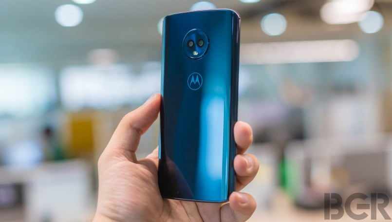 moto g6 review back