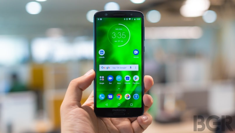 Moto G6, Moto G6 Play, Moto Z3 Play Android Pie update starts rolling out