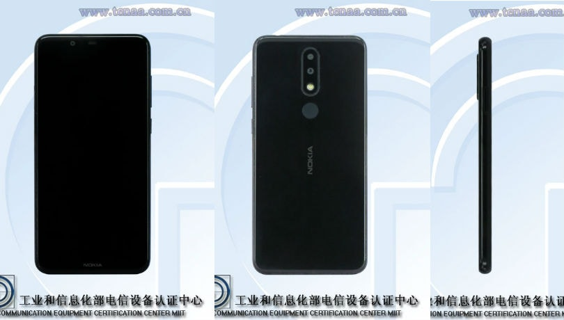 Nokia 5.1 Plus with display notch, dual-rear cameras spotted on TENAA