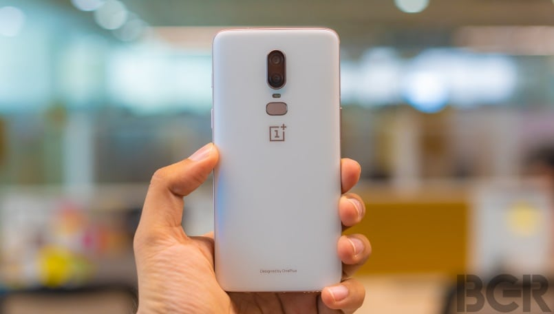 new arrival 198e0 71536 OnePlus 6 Silk White Limited Edition First Impressions: Let's white ...