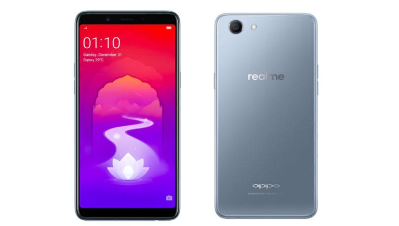 Oppo Realme 1 Moonlight Silver variant with 4GB RAM goes on sale today via Amazon India