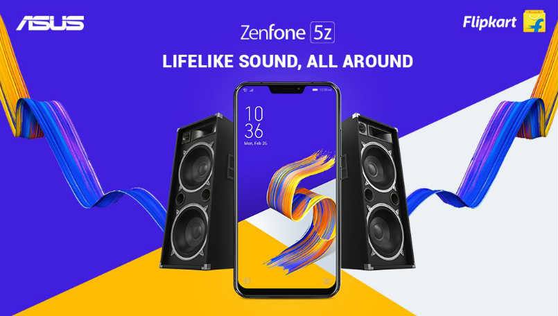 Asus ZenFone 5Z India launch today, will be Flipkart exclusive