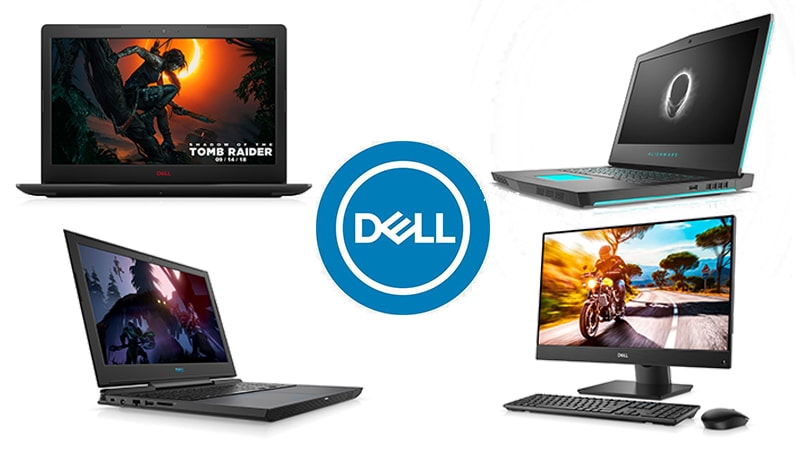 Dell gaming lineup