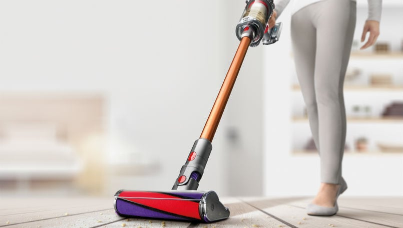 Dyson Cyclone V10 Absolute Pro cord-free vacuum launch