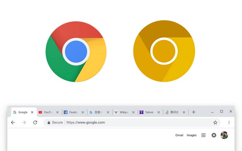 Google has rolled out a new design for Chrome browser in its Canary build