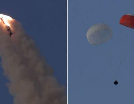 ISRO successfully tests crew escape system for first human space flight