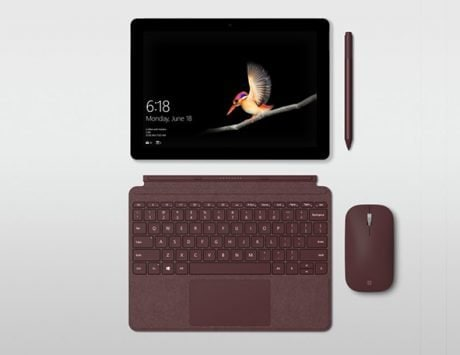 Microsoft Surface Go tablet launched for $399 with 10-inch display