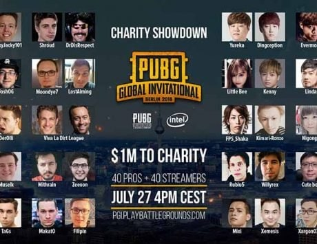 PUBG set to hold a $1 million Charity Showdown at PGI with streamers and pros