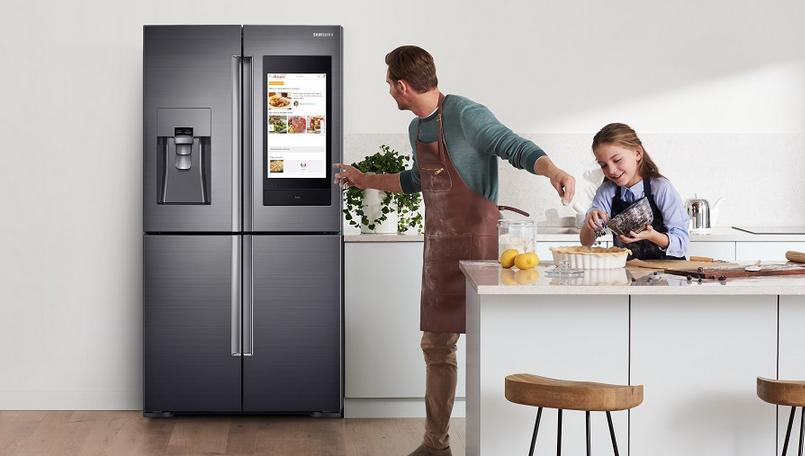 Samsung Family Hub IoT refrigerator with 21-inch display, Bixby support launched in India