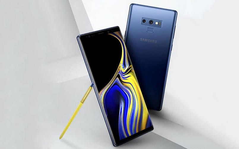 Samsung Galaxy Note 9 Press Render 805px