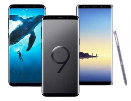 There's a Rs 16,000 discount on Samsung Galaxy S9+ and Samsung Galaxy Note 8
