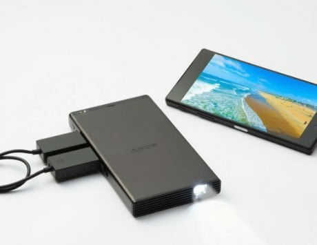 Sony mobile projector with 5,000mAh built-in battery launched in India