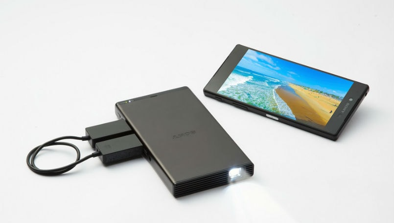 Sony mobile projector main