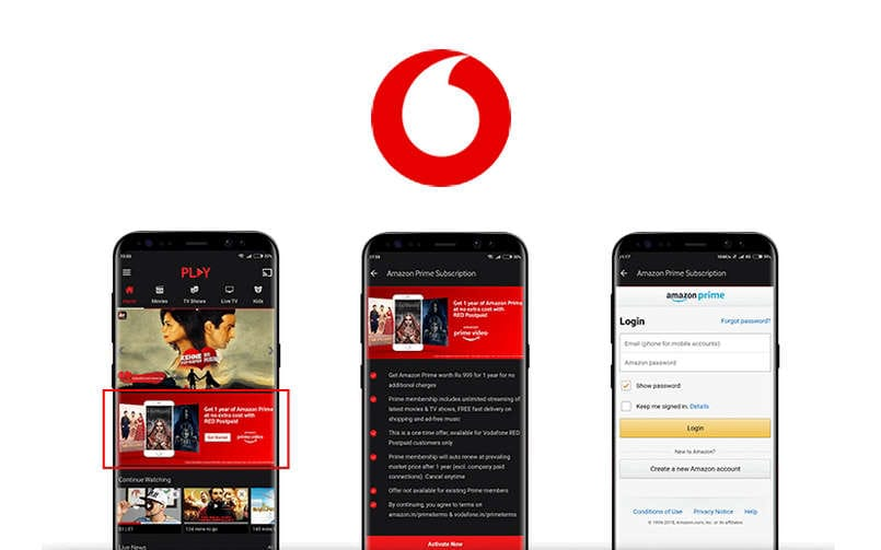 Get an Amazon Prime membership at half the price with Vodafone's 'Youth Offer on Amazon Prime'