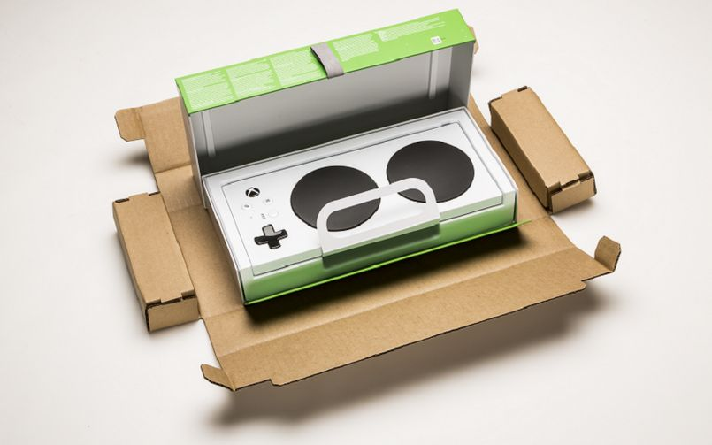 Xbox Adaptive Controller Packaging 805px