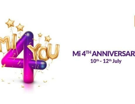Xiaomi fourth anniversary Mi 4 You sale: Deals on Mi TV 4, Redmi Y2, Redmi Note 5 Pro, Mi Band 2 and more