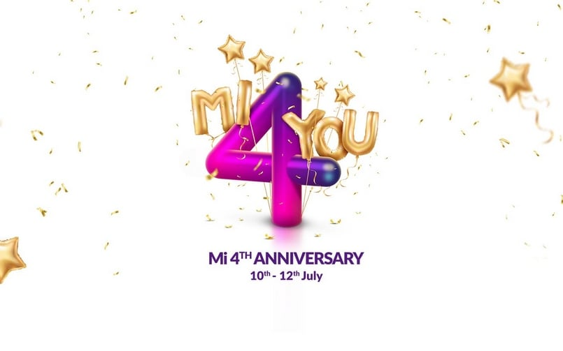 Xiaomi India to celebrate its fourth anniversary with Mi 4 You Sale with compelling offers from July 10