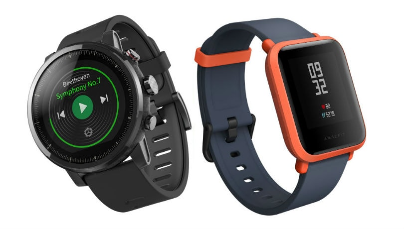Xiaomi's Huami launches Amazfit Bip and Stratos smartwatches in India, prices start at Rs 5,499