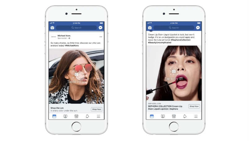 facebook AR ads main